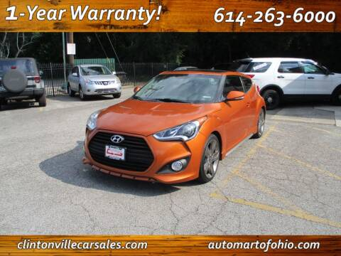 2015 Hyundai Veloster for sale at Clintonville Car Sales - AutoMart of Ohio in Columbus OH