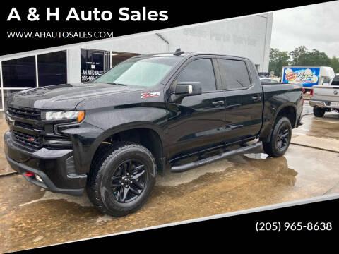 2019 Chevrolet Silverado 1500 for sale at A & H Auto Sales in Clanton AL