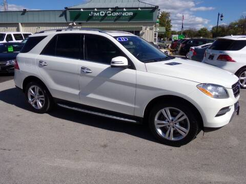 2013 Mercedes-Benz M-Class for sale at Jim O'Connor Select Auto in Oconomowoc WI