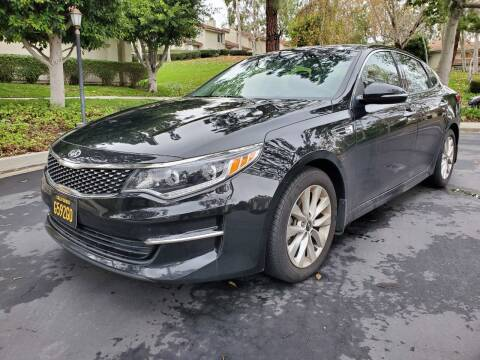 2016 Kia Optima for sale at E MOTORCARS in Fullerton CA