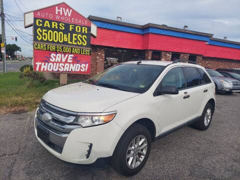 2013 Ford Edge for sale at HW Auto Wholesale in Norfolk VA