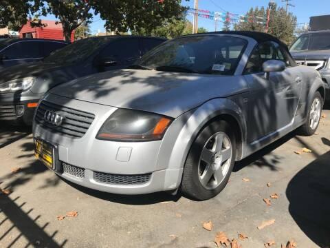 2001 Audi TT for sale at MK Auto Wholesale in San Jose CA