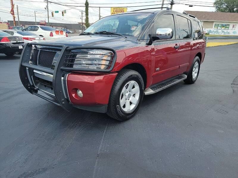 2005 Nissan Armada for sale at Rucker's Auto Sales Inc. in Nashville TN