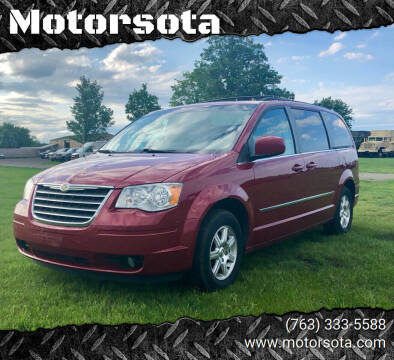 2010 Chrysler Town and Country for sale at Motorsota in Becker MN