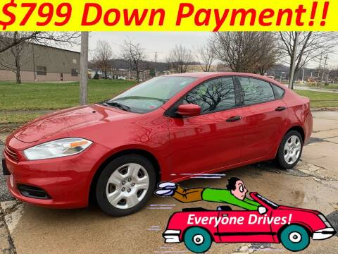 2013 Dodge Dart for sale at World Automotive in Euclid OH