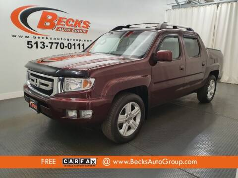 2011 Honda Ridgeline for sale at Becks Auto Group in Mason OH