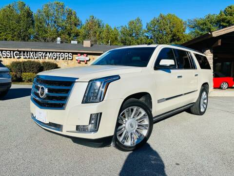 2015 Cadillac Escalade ESV for sale at Classic Luxury Motors in Buford GA