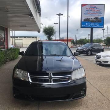 2013 Dodge Avenger for sale at Magic Auto Sales - Cash Cars in Dallas TX