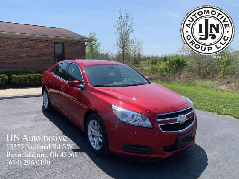 2013 Chevrolet Malibu for sale at IJN Automotive Group LLC in Reynoldsburg OH