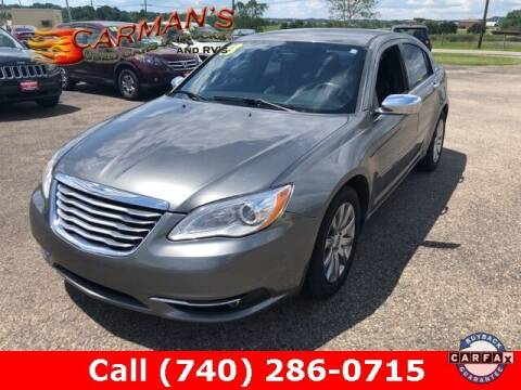 2013 Chrysler 200 for sale at Carmans Used Cars & Trucks in Jackson OH