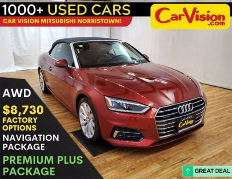 2018 Audi A5 for sale at Car Vision Buying Center in Norristown PA