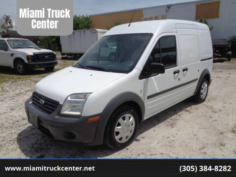 2013 Ford Transit Connect Cargo for sale at Miami Truck Center in Hialeah FL