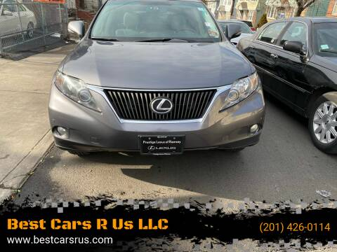 2012 Lexus RX 350 for sale at Best Cars R Us LLC in Irvington NJ