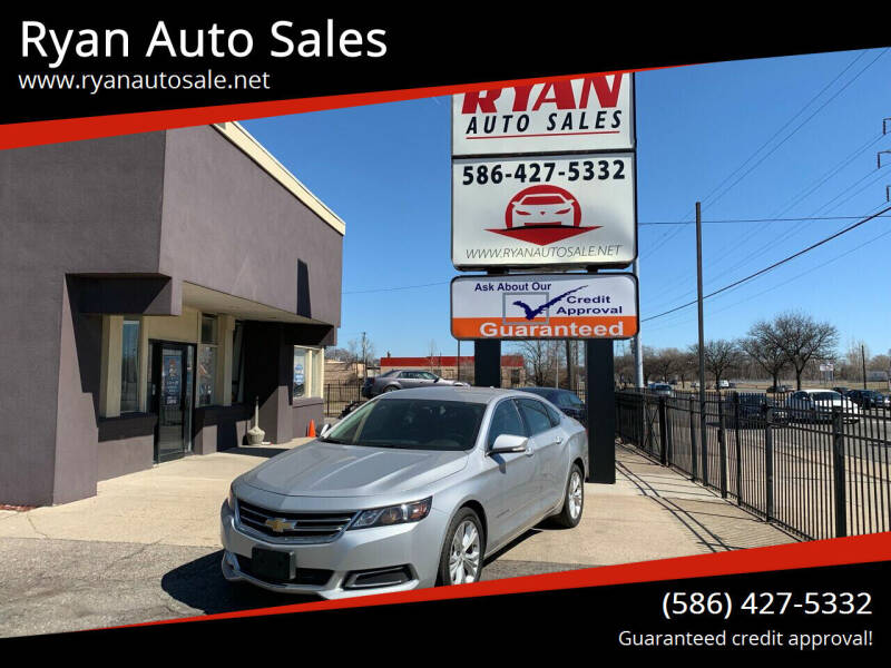 2014 Chevrolet Impala for sale at Ryan Auto Sales in Warren MI