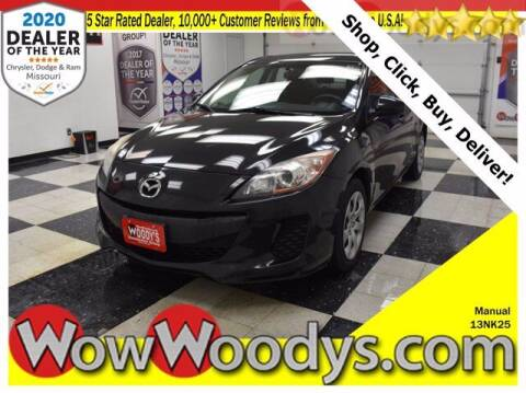 2013 Mazda MAZDA3 for sale at WOODY'S AUTOMOTIVE GROUP in Chillicothe MO