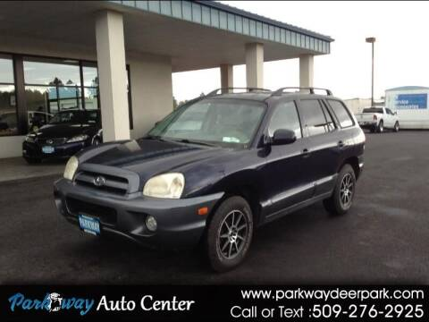 2005 Hyundai Santa Fe for sale at PARKWAY AUTO CENTER AND RV in Deer Park WA