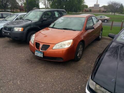 2006 Pontiac G6 for sale at Continental Auto Sales in White Bear Lake MN