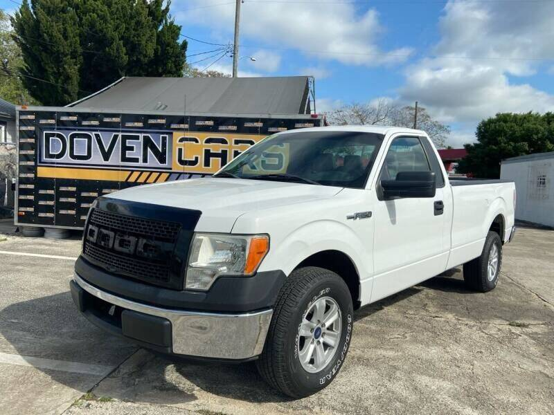 2013 Ford F-150 for sale at DOVENCARS CORP in Orlando FL