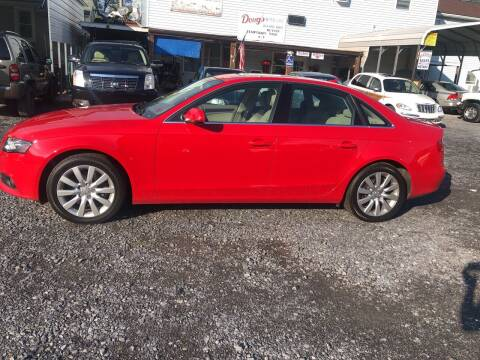 2012 Audi A4 for sale at DOUG'S USED CARS in East Freedom PA