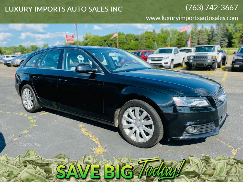 2011 Audi A4 for sale at LUXURY IMPORTS AUTO SALES INC in North Branch MN