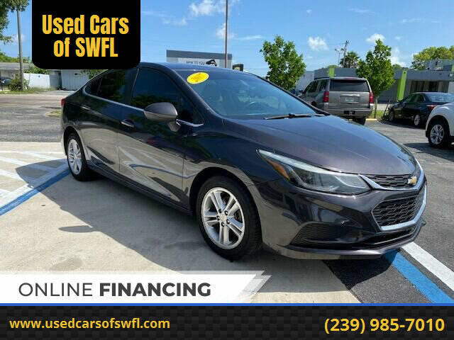 2017 Chevrolet Cruze for sale at Used Cars of SWFL in Fort Myers FL