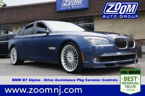 2012 BMW 7 Series for sale at Zoom Auto Group in Parsippany NJ