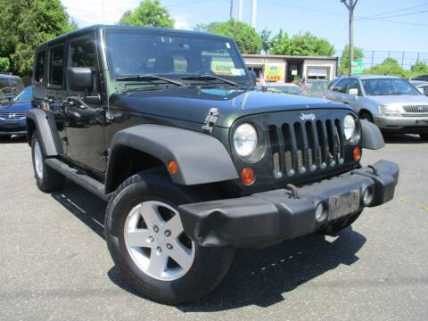 2011 Jeep Wrangler Unlimited for sale at Unlimited Auto Sales Inc. in Mount Sinai NY