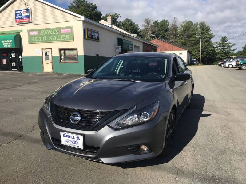 2018 Nissan Altima for sale at Brill's Auto Sales in Westfield MA