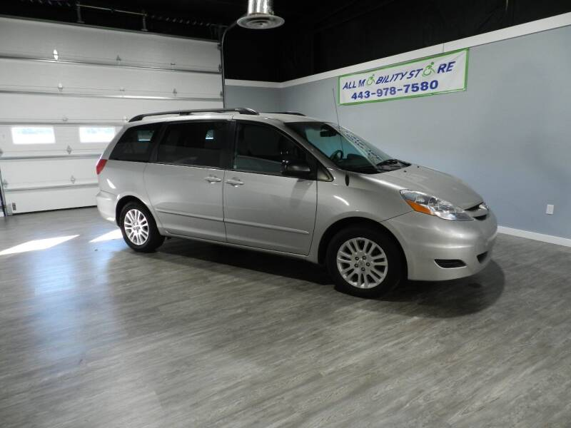 2010 Toyota Sienna for sale at ALL MOBILITY STORE in Delmar MD
