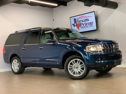 2013 Lincoln Navigator L for sale at Texas Prime Motors in Houston TX