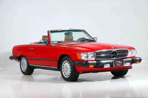 1987 Mercedes-Benz 560-Class for sale at Motorcar Classics in Farmingdale NY