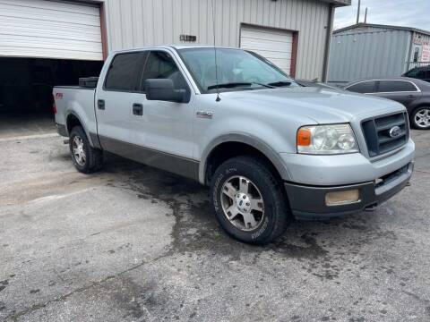 2004 Ford F-150 for sale at Mitchell Motor Company in Madison TN