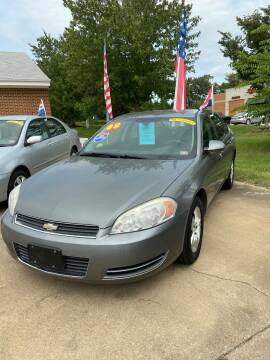 2008 Chevrolet Impala for sale at Top Auto Sales in Petersburg VA