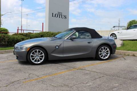 2007 BMW Z4 for sale at Peninsula Motor Vehicle Group in Oakville Ontario NY