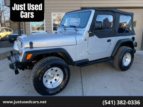2005 Jeep Wrangler for sale at Just Used Cars in Bend OR