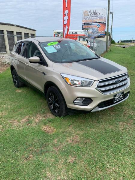 2017 Ford Escape for sale at Drive in Leachville AR