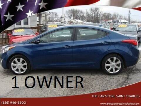 2013 Hyundai Elantra for sale at The Car Store Saint Charles in Saint Charles MO