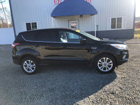 2017 Ford Escape for sale at Swanson's Cars and Trucks in Warsaw IN