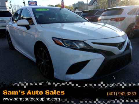 2020 Toyota Camry for sale at Sam's Auto Sales in Cranston RI
