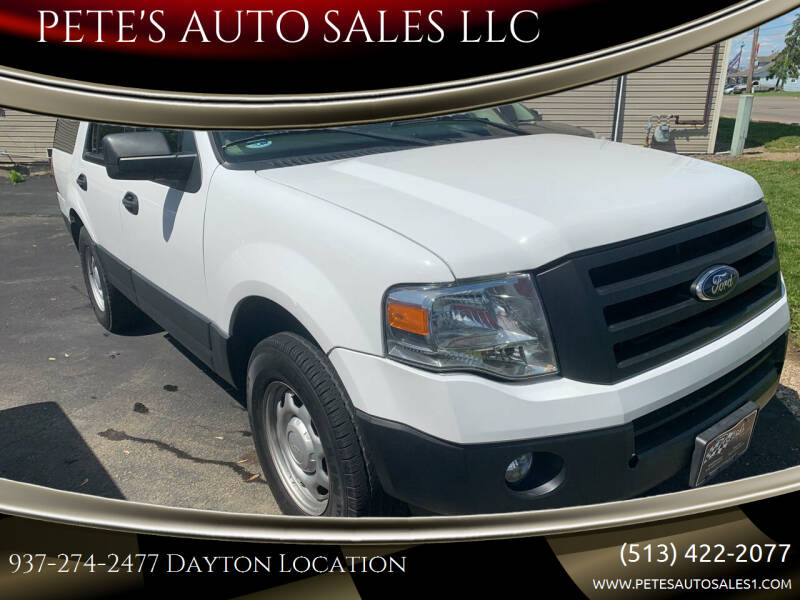 2013 Ford Expedition for sale at PETE'S AUTO SALES LLC - Dayton in Dayton OH