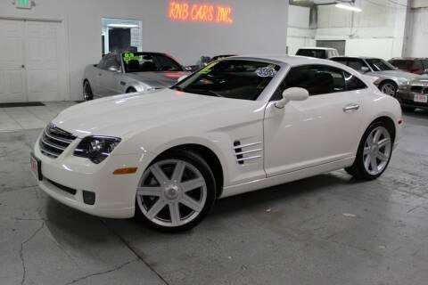 2004 Chrysler Crossfire for sale at R n B Cars Inc. in Denver CO
