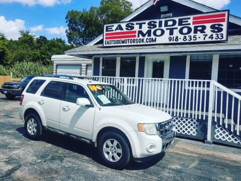 2010 Ford Escape for sale at EASTSIDE MOTORS in Tulsa OK