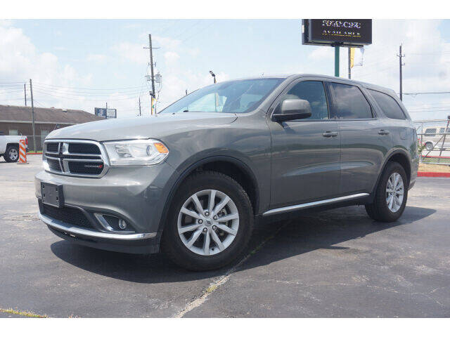 2019 Dodge Durango for sale at Maroney Auto Sales in Humble TX