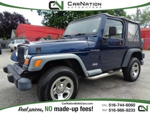 2002 Jeep Wrangler for sale at CarNation AUTOBUYERS, Inc. in Rockville Centre NY