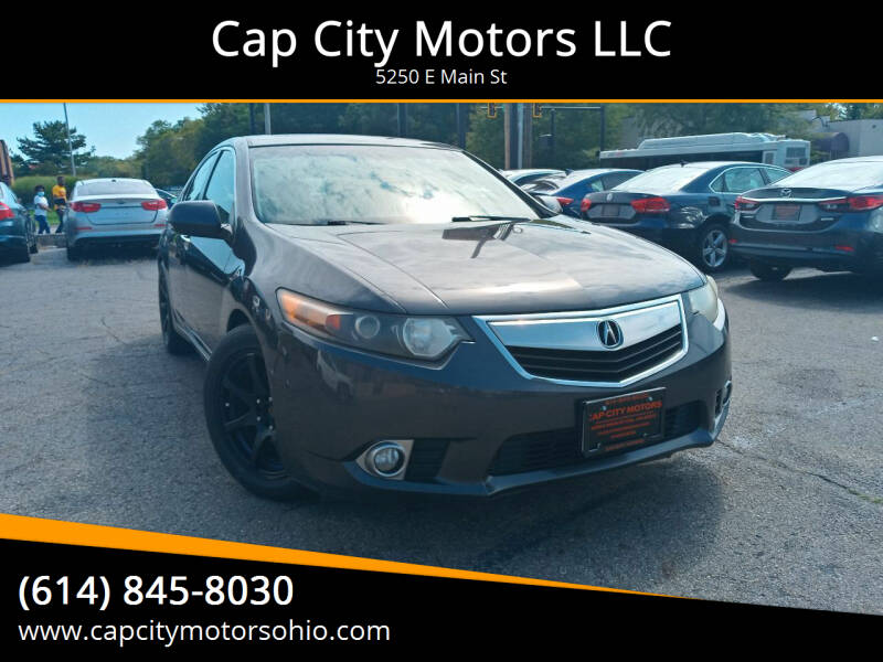 2012 Acura TSX for sale at Cap City Motors LLC in Columbus OH