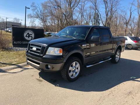 2006 Ford F-150 for sale at Station 45 Auto Sales Inc in Allendale MI