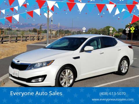 2012 Kia Optima for sale at Everyone Auto Sales in Santa Clara CA