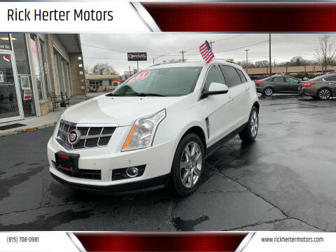 2011 Cadillac SRX for sale at Rick Herter Motors in Loves Park IL