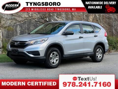 2015 Honda CR-V for sale at Modern Auto Sales in Tyngsboro MA