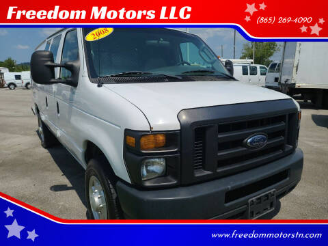2008 Ford E-Series Cargo for sale at Freedom Motors LLC in Knoxville TN